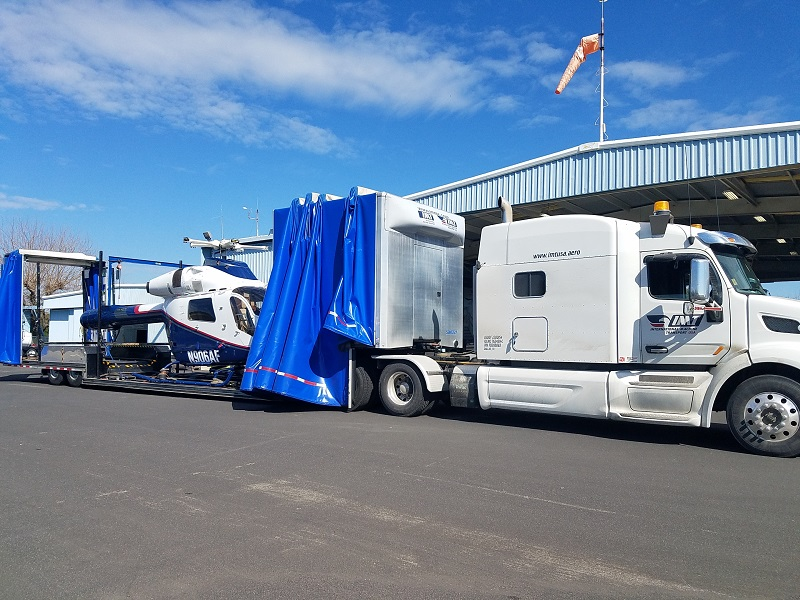 Custom Helicopter Transport Trailers