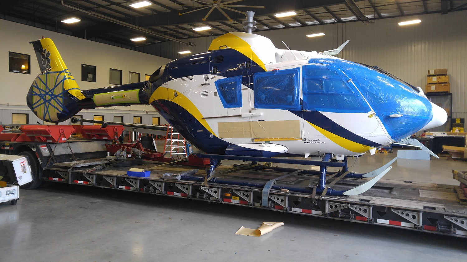 Helicopter Shipping and Trucking