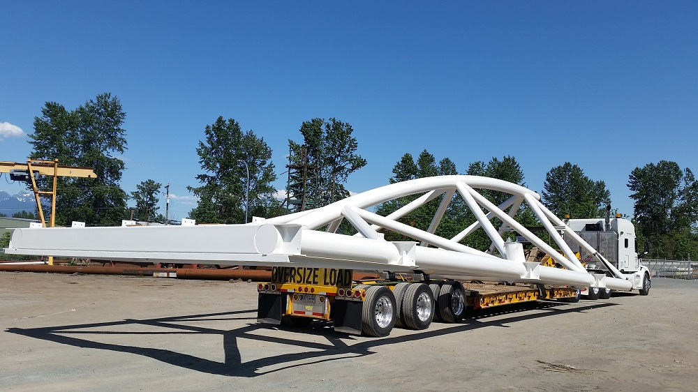 Oversized Machine Transport